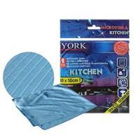 Полотенце из микрофибры для кухни, Kitchen, 1 шт. цвет: голубой.