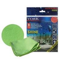 Салфетка из микрофибры для полировки, Shine, 1 шт., цвет: салатовый.