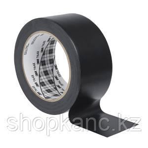 Виниловая разметочная лента 764, 50 мм х 33 м, цвет чёрный.