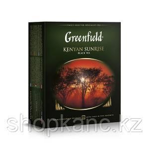 Чай Greenfield, Kenyan Sunrise, черный, 2 гр. х 100 пакетов.