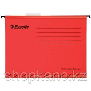 Подвесная папка Pendaflex Standart, А4, картон, 205 г/м2, красная.