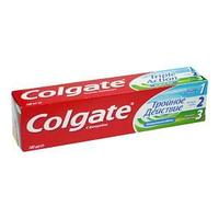 Зубная паста, Тройное Действие, Натуральная мята, 100 мл.