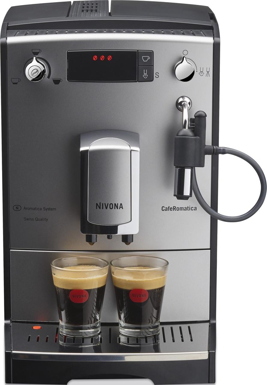Кофемашина Nivona CafeRomatica NICR 530 серебро