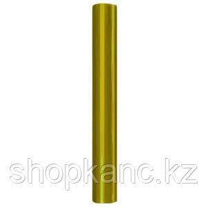 Упаковочная цветная прозрачная пленка, цвет желтый, размер 70 х 150 см