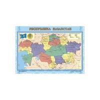 Карта РК 1:3,0 млн полит.админ. ( ламин )