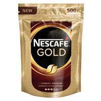 Кофе Nescafe Gold, в пакете, 500 гр.