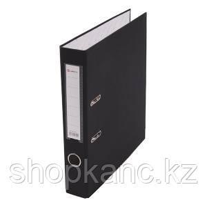 Папка-регистратор, А4, 50 мм, бумвинил/бумага, чёрный.