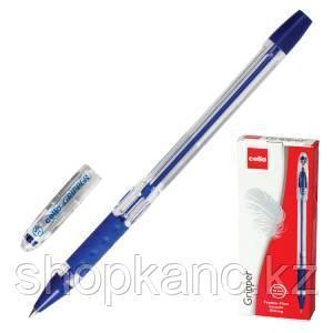 "Ручка шариковая ""Cello Gripper""0,5 мм, цвет синий."