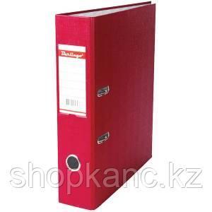 Папка-регистратор, А4, 70 мм, бумвинил/бумага, бордовый.