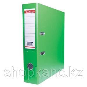 Папка-регистратор, А4, 70 мм, бумвинил/бумага, салатовый.