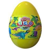 "Набор креативного творчества Тесто для лепки Master Do ""Dinosaurs Eggs Желтое"""