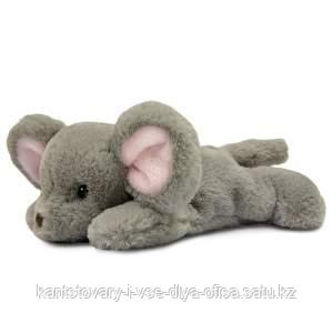 Игрушка мягкая Мышонок леж. 25 см