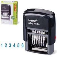 Автоматический нумератор 4846  Trodat, черный