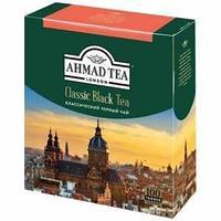 Чай Ahmad Tea, Классический, пакетики с ярлычками 100*2г.