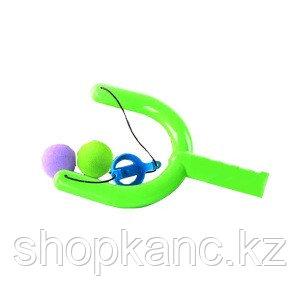 Рогатка с мягкими шариками и с пульками на присоске 2 вида