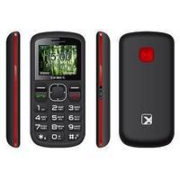 Мобильный телефон Texet TM-B220 черный-красный