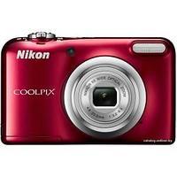 Фотоаппарат компактный Nikon COOLPIX A10 красный