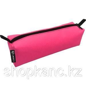 Пенал-косметичка Lamark, на молнии, 60х50х210 мм, неон розовый