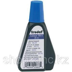 Штемпельная краска на водной основе 7011-С  Trodat синяя