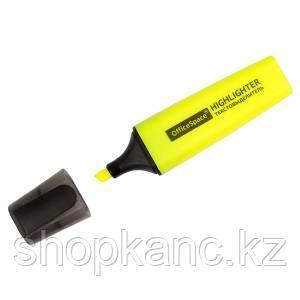 """Текстовыделитель """"OfficeSpace"""" желтый, 1-5мм"""