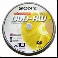 Диски Sony DVD-RW