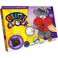 """Набор для творчества """"Часы """"Creative clock- Мишка с сердцем"""""""