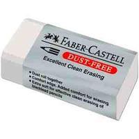 """Ластик Faber-Castell """"Dust Free"""", прямоугольный, картонный футляр"""