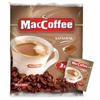 Кофе Maccoffee Caramel 3 в1, 20 гр. упаковка 10 шт