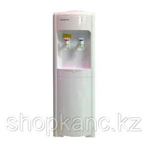 Диспенсер со шкафчиком, компрессорное охлаждение и нагрев