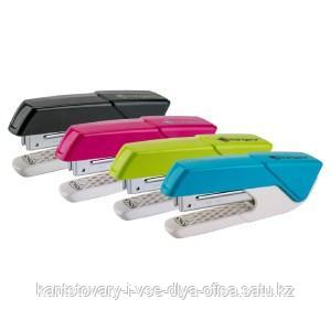 """Степлер №24/6, 26/6 Kangaro """"Aris-35"""" до 20л., пластиковый корпус, ассорти"""