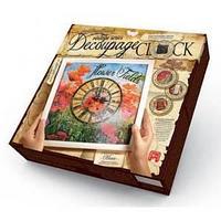 """Комплектдля творчества """"Decoupage clock Маки"""" с рамкой"""