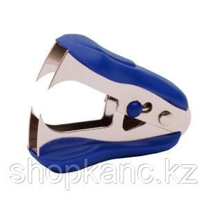 Антистеплер 24/6, цвет - синий с фиксатором