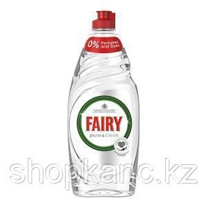 FAIRY Средство для мытья посуды Pure & Clean, 650 мл