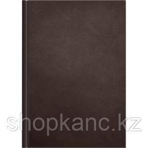 Ежедневник 2021  Modern A5коричневый, 320 стр., карта мира