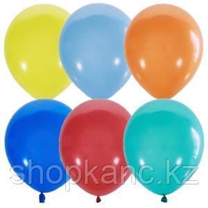 Воздушные шары, 100шт., M5/13см, Поиск, ассорти, пастель