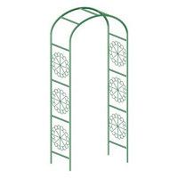 Арка садовая декоративная для вьющихся растений, 228 х 130см