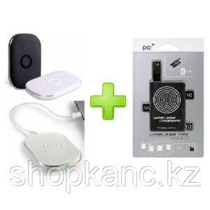 Зарядное устройство беспроводное, для Samsung Galaxy S3/S4, Note 2/3, PowerQi T-300+WIRELESS TAG чер
