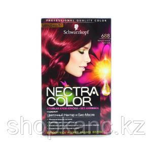 Крем-краска для волос Nectra Color 688 интенсивный красный