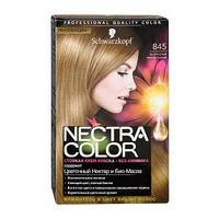 Крем-краска для волос Nectra Color 845 золотистый светло-русый