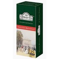 Чай Ahmad Tea, Английский завтрак, пакетики с ярлычками 25*2г.