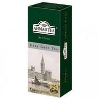 Чай Ahmad Tea, Эрл Грей, пакетики с ярлычками 25*2г.