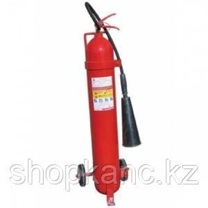 Огнетушитель углекислотный с тележкой ОУ-10