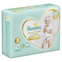 Подгузники Трусики Pampers Premium Care Pants 16 кг, размер 5, 34 шт.