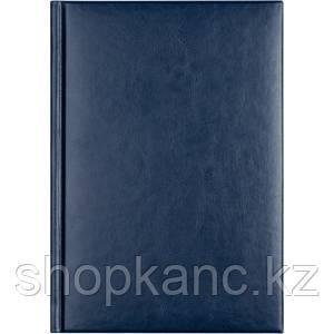 Ежедневник недат.  Sigma A5 синий, 352 стр., карта России
