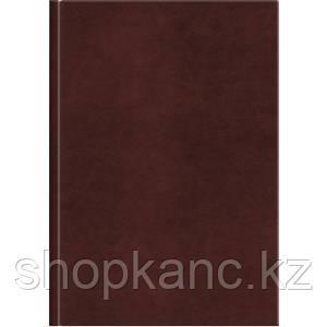 Ежедневник недат.  Sigma A5 коричневый, 352 стр., карта России