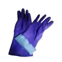 Перчатки резиновые, утепленные.