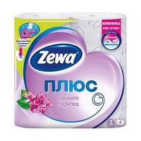 Туалетная бумага Zewa Плюс Сирень, 2-сл. 4 рул./упак.