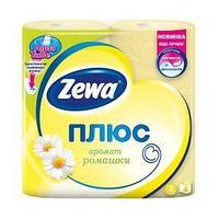 Туалетная бумага Zewa Плюс Ромашка, 2-сл. 4 рул./упак.