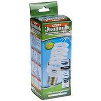 Лампа энергосберегающая, 20 W, SPC, E27, 4000 K.