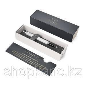 Ручка шариковая IM White CT, синяя, 1,0 мм, кнопочный механизм, в подарочной упаковке.